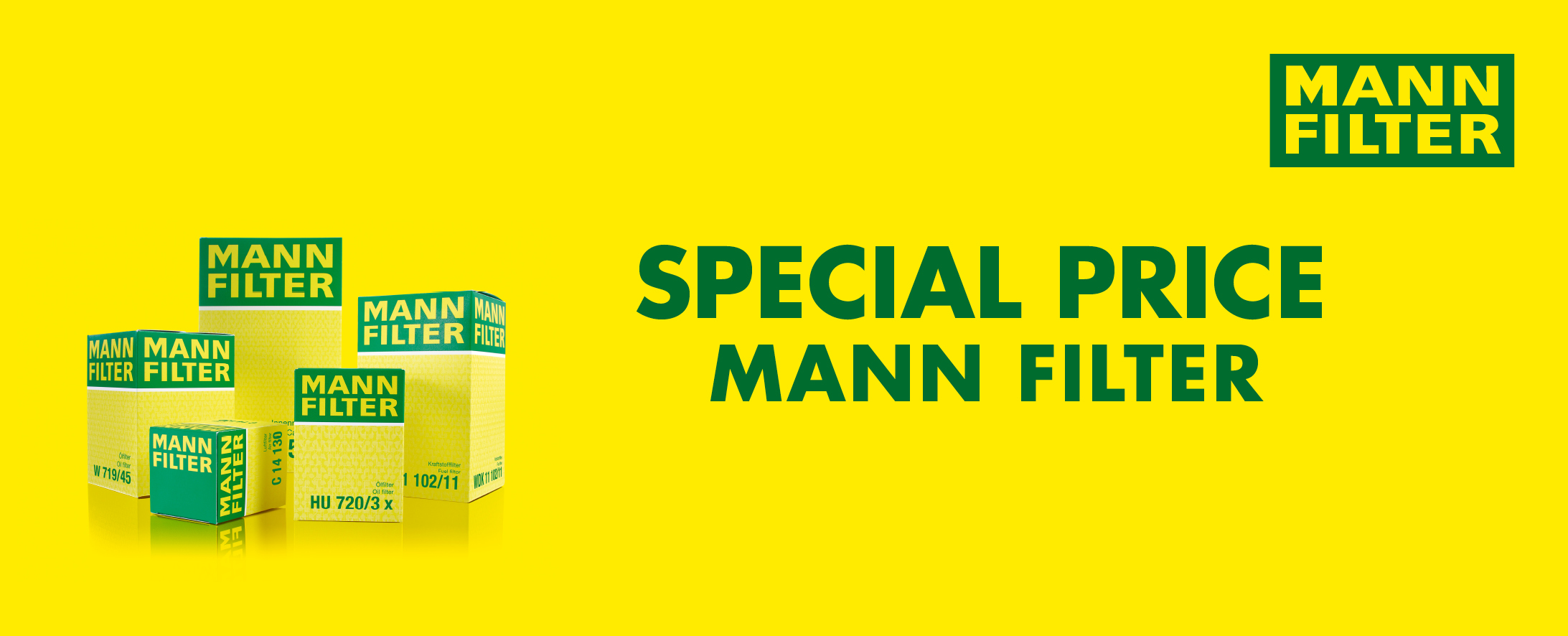 SPECIAL PRICE MANN FILTER
